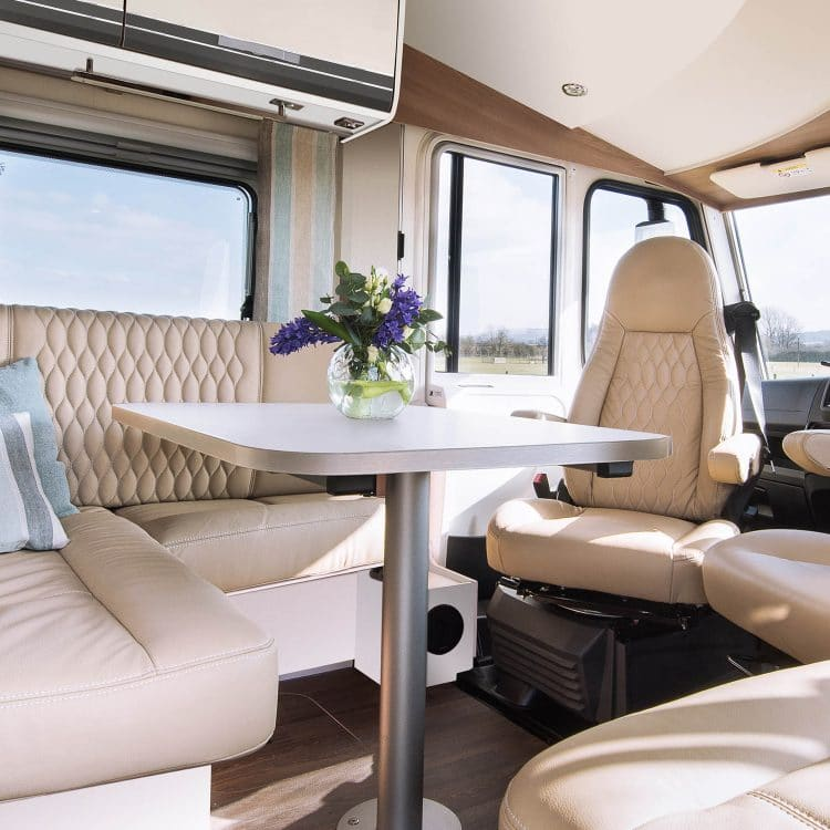 Buy a luxury GlamperRV motorhome with bespoke interior