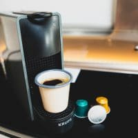 GlamperRV Nespresso coffee machine
