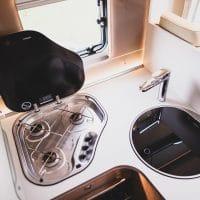 GlamperRV kitchen