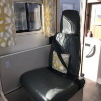 GlamperRV DBL passenger seat