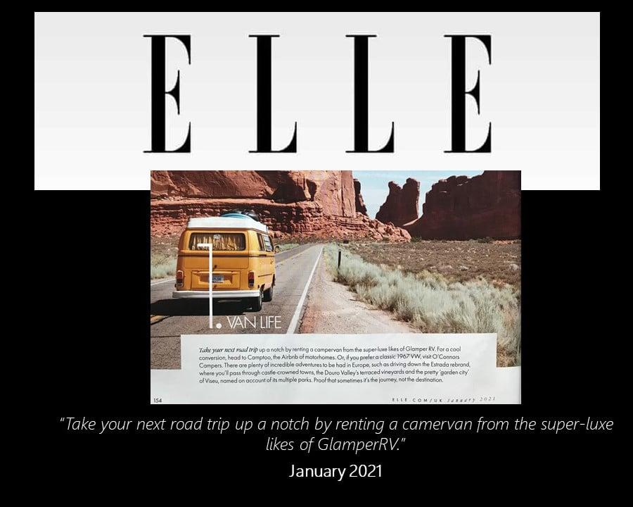 Elle Magazine Travel New Year New View