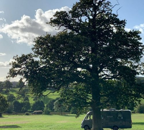 GlamperRV at Eastnor Castle