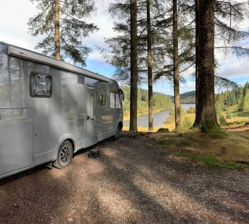Non-traditional overnight spot for your GlamperRV adventure